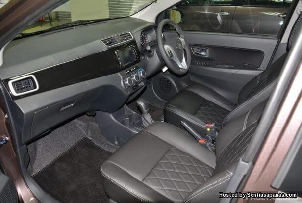 Spesifikasi Dan Harga Perodua Bezza [6]