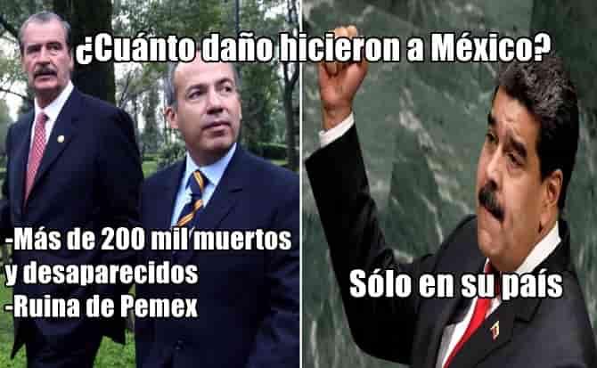 Maduro, invitaciones, política