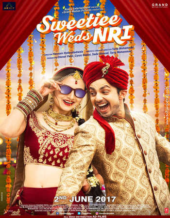 Watch Online Bollywood Movie Sweetiee Weds NRI 2017 300MB HDRip 480P Full Hindi Film Free Download At WorldFree4u.Com