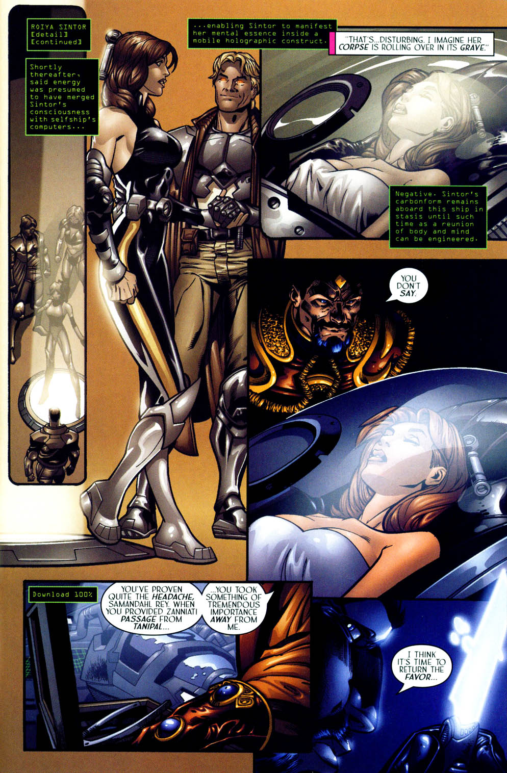 Read online Sigil (2000) comic -  Issue #12 - 15