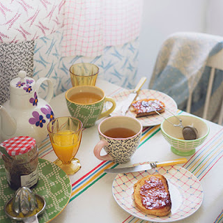 breakfast table setting to describe the feeling of community and effective relationships that is enabled from telephone counseling
