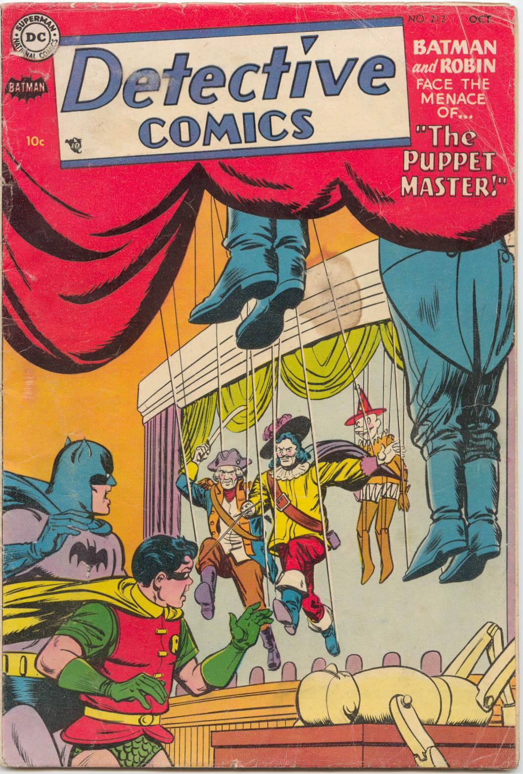 Detective Comics (1937) 212 Page 1