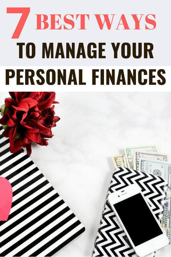 7 best ways to manage you personal finance
