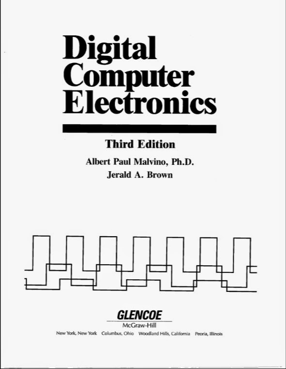 DIGITAL COMPUTER ELECTRONICS BY MALVINO BROWN 3RD EDITION PDF