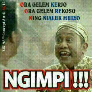 Gambar lucu Bahasa Jawa 7