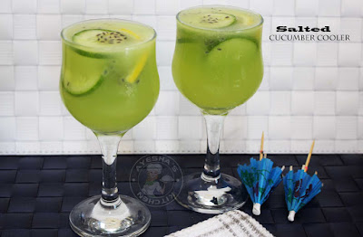 salted cucumber cooler cucumber juice lemon cucumber lemonade cooler party drinks