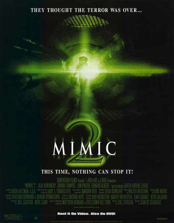 Poster Of Mimic 2 2001 Hindi Dual Audio 350MB BluRay 720p ESubs HEVC Free Download Watch Online downloadhub.in