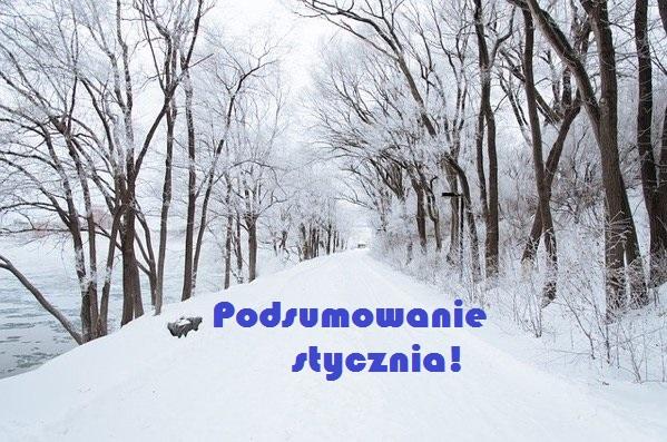 """""""Gdy styczeń zamglony, marzec zaśnieżony. """" - Podsumowanie stycznia!"""