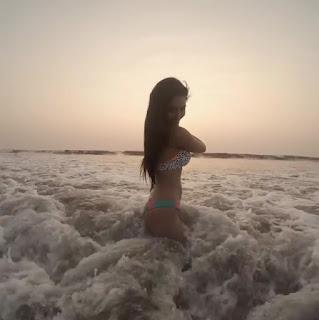 Tridha Choudhury TV Star Shares Bikini picture on Instagram