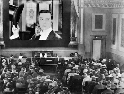 O Μπάστερ Κίτον σε κινηματογράφο της δεκαετίας του 20
