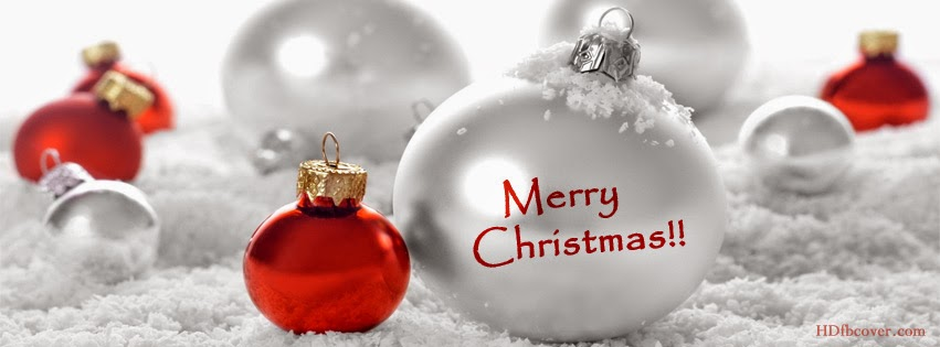 Merry Christmas Facebook Cover Pics