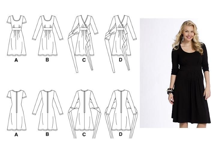 Cocos Loft Mccalls 5974 Aka The Perfect Knit Dress