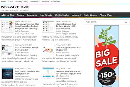 indoamaterasu.com Blog Tentang AdSense, SEO, dan Android Yang Paling Lengkap