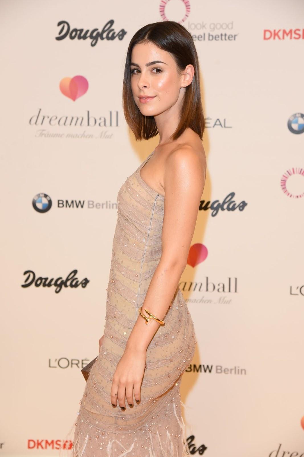 Lena Meyer-Landrut at DKMS Dreamball 2016