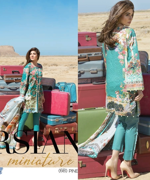 Crimson Lawn 2017 Collection by Saira Shakira