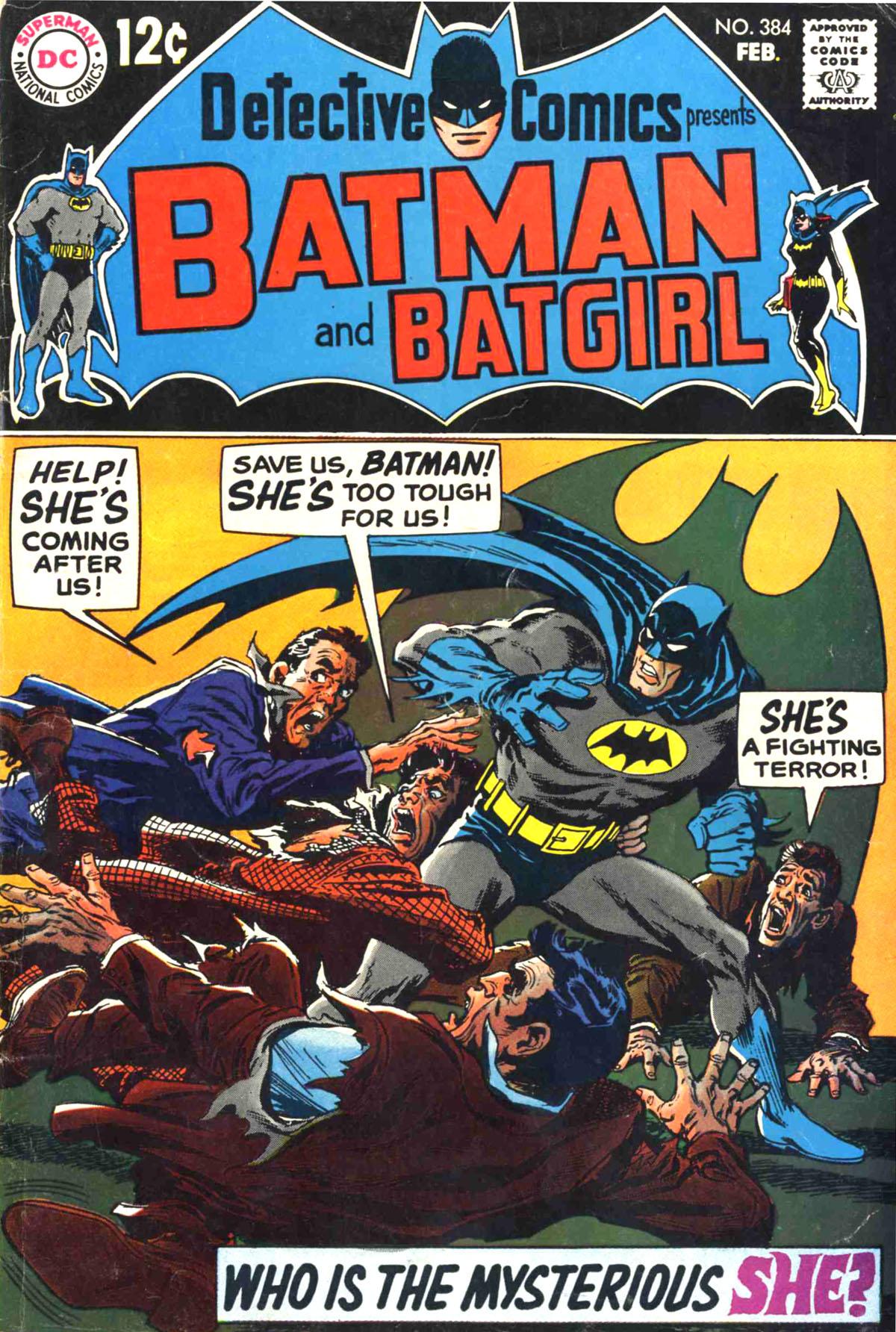 Detective Comics (1937) 384 Page 1