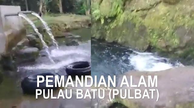 Yuk Menikmati Sejuknya Air Pemandian Alam Pulau Batu di Siantar