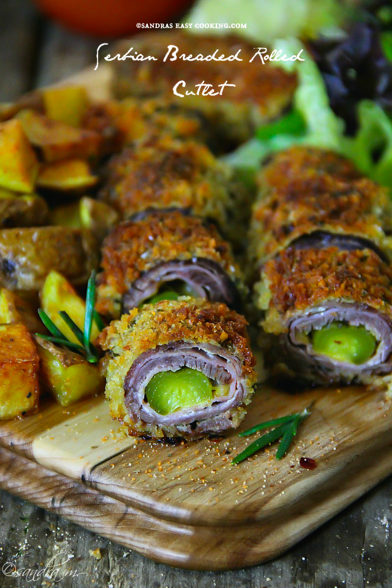 Serbian Breaded Rolled Cutlet