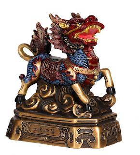 Quilin simbolo y significado- unicornio chino