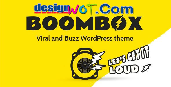 BoomBox – Viral & Buzz WordPress Premium Theme