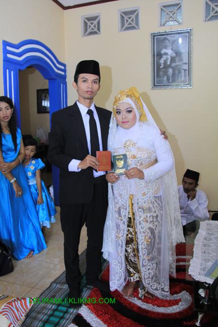 Foto Album Akad Nikah LELI & RAMLI - Klikmg Fotografer Wedding | Leliramli.klikmg.com