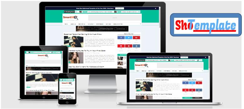 Smartseo free blogger templates responsive magazine pronofoot35fo Images