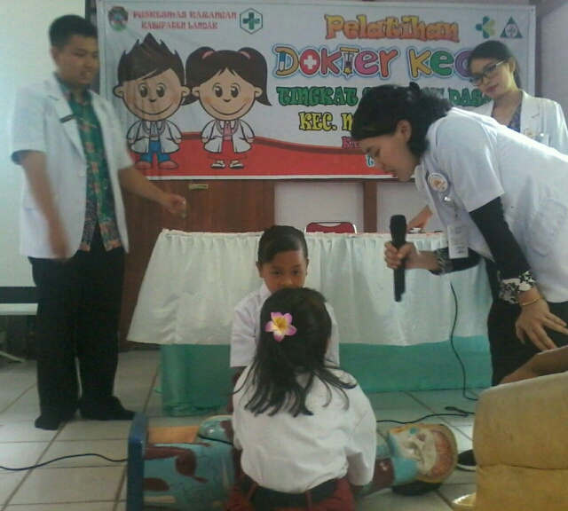 Puskesmas Karangan Gelar Pelatihan Dokter Kecil Sekolah Dasar Suaralandak Co Id