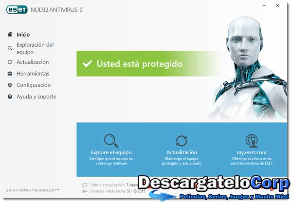 ESET NOD32 Antivirus v9.0.318.20 Final Español