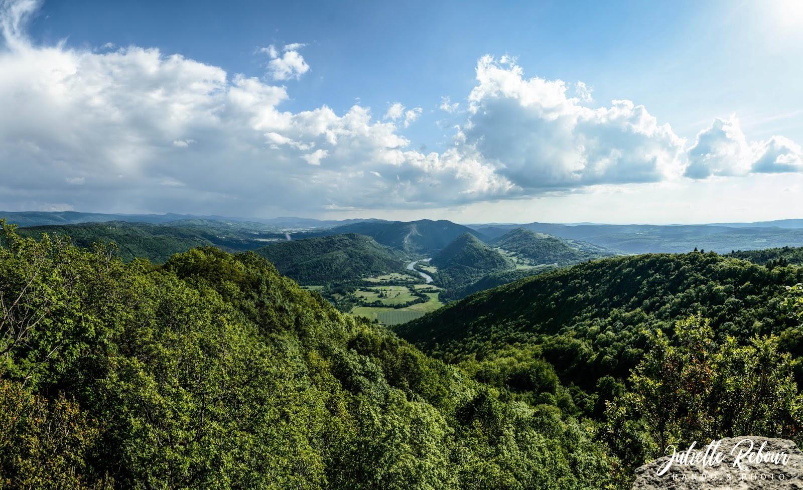 Panorama depuis le Pic d'Oliferne