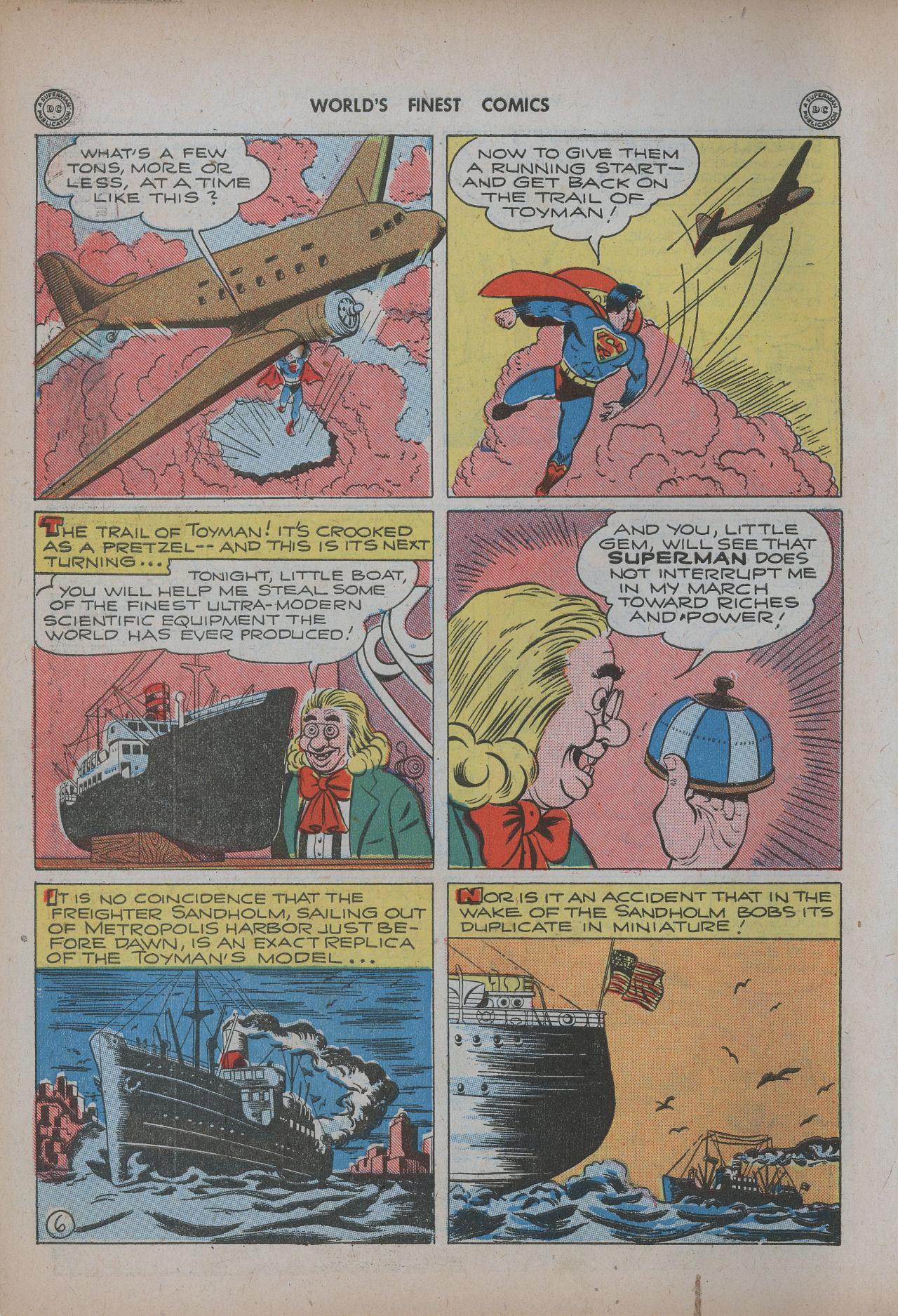 Read online World's Finest Comics comic -  Issue #20 - 8