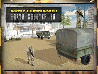Militer Komando Shooter 3D Mod Apk Full Unlocked