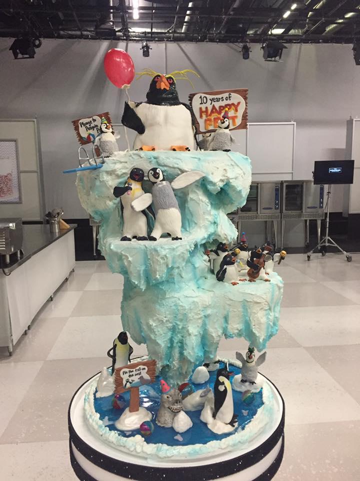 Cake Wars Happy Feet Winner