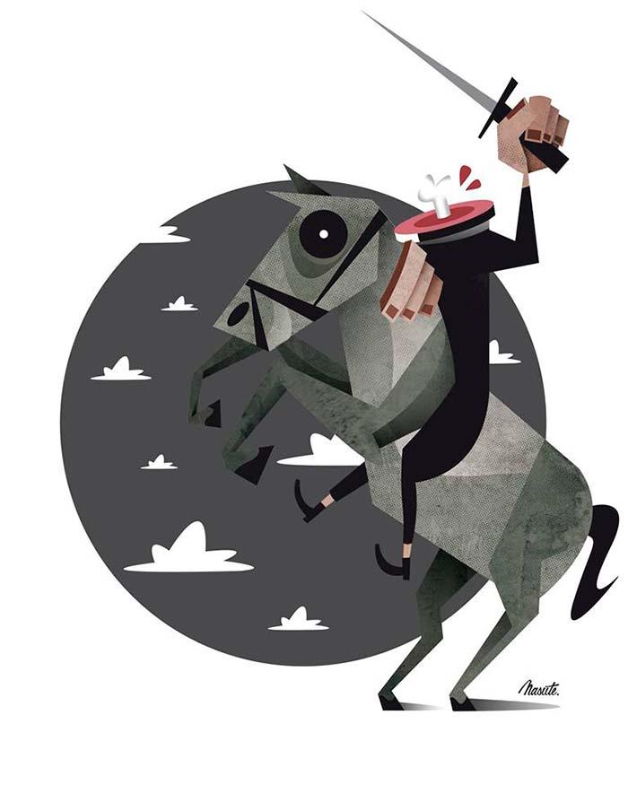 Ilustración de Federico Nasute