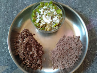 Finger millet (Ragi) Sweet & Hot Puttu