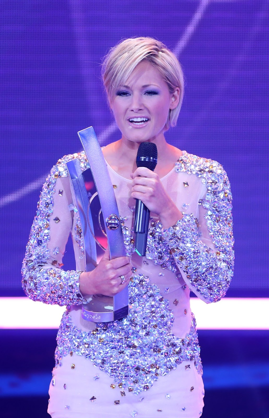 Helene Fischer Cute Hq Photos At Echo Awards 2012-4162