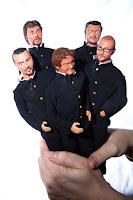 orme magiche bishoonen visi caricatura copia modellini statuette sculture action figure personalizzate fatta a mano super sculpey