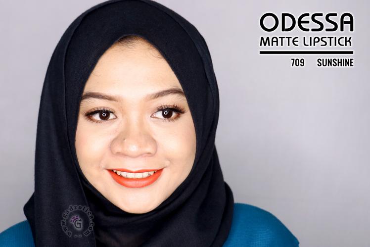 Odessa Matte Lipstick 709 Sunshine