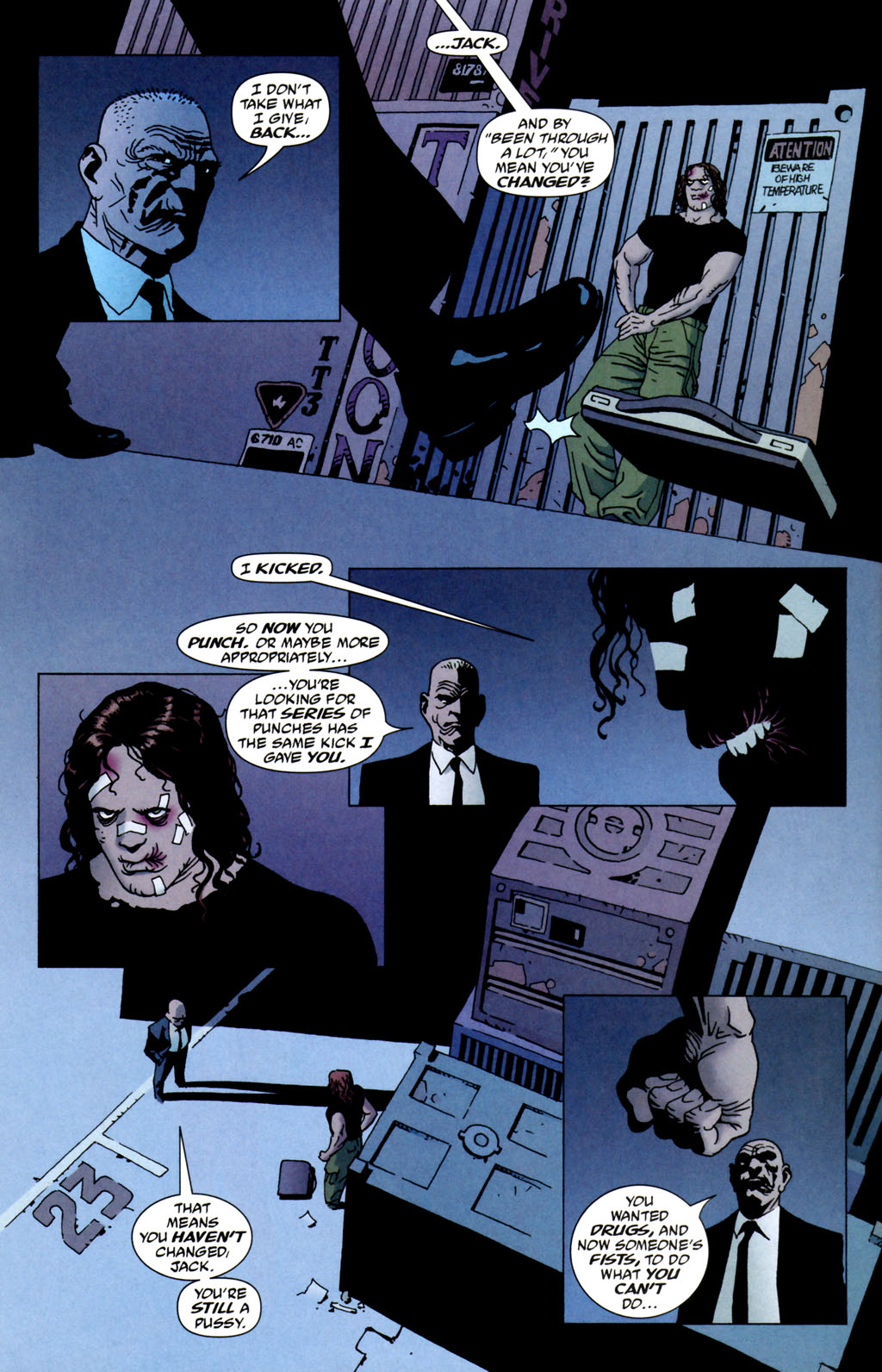 Read online 100 Bullets comic -  Issue #64 - 8
