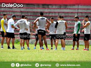Oriente Petrolero cierra prácticas de cara al partido de vuelta ante Universitario de Perú - DaleOoo