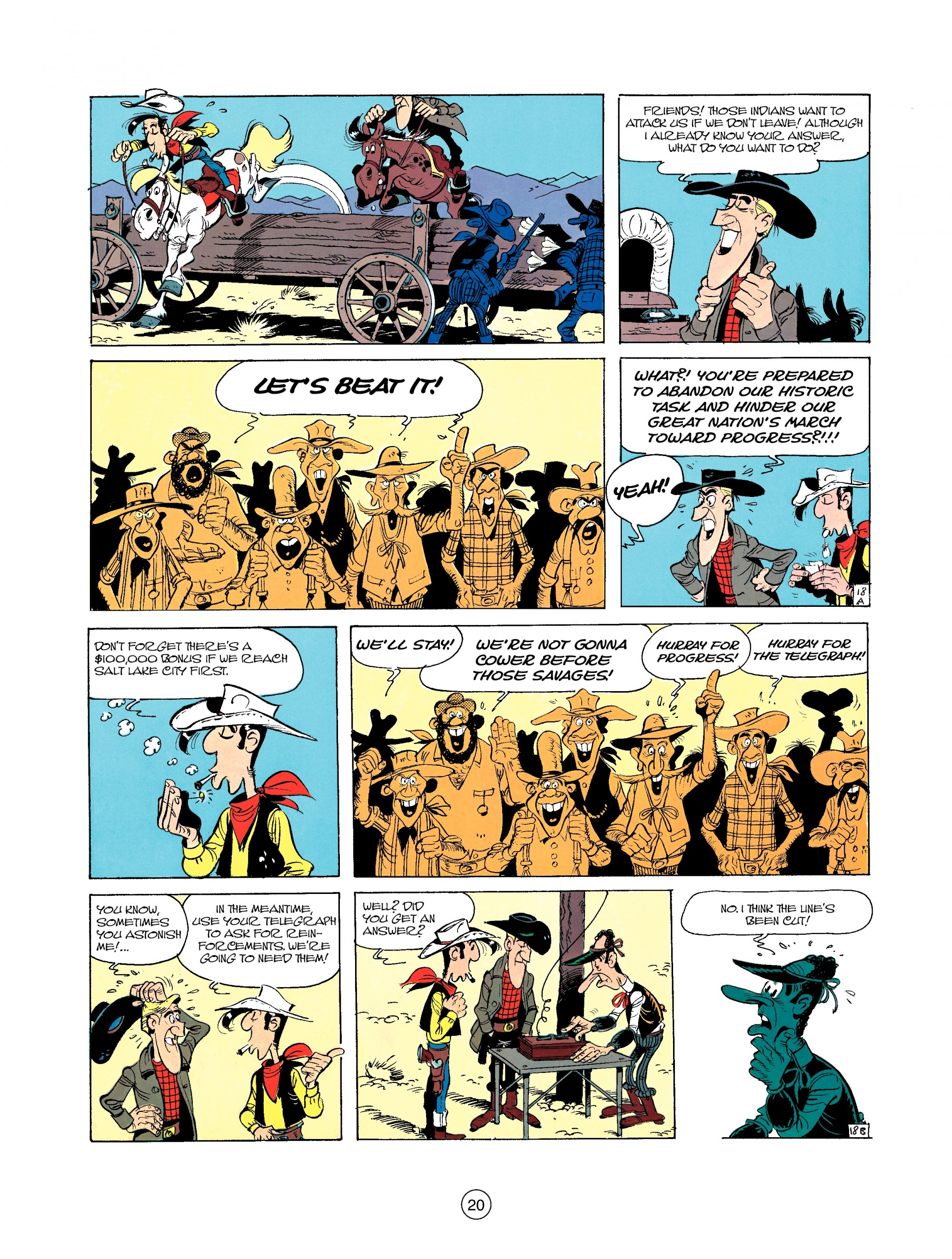Read online A Lucky Luke Adventure comic -  Issue #35 - 20