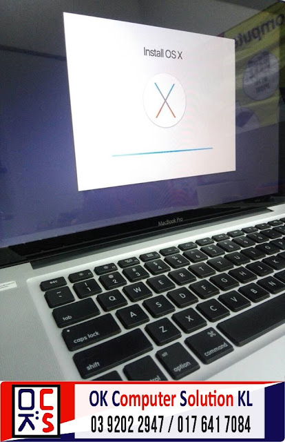 [SOLVED]FORMAT MACBOOK PRO A1286 |REPAIR MAC TAMAN CONNAUGHT 2