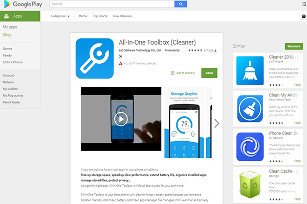 All-In-One Toolbox  Pro APK 2017