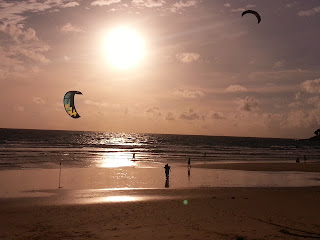 Kitesurfing at Karon Beach