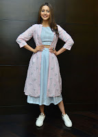 Rakul Preet Singh Style Stills at Dev Promotions TollywoodBlog