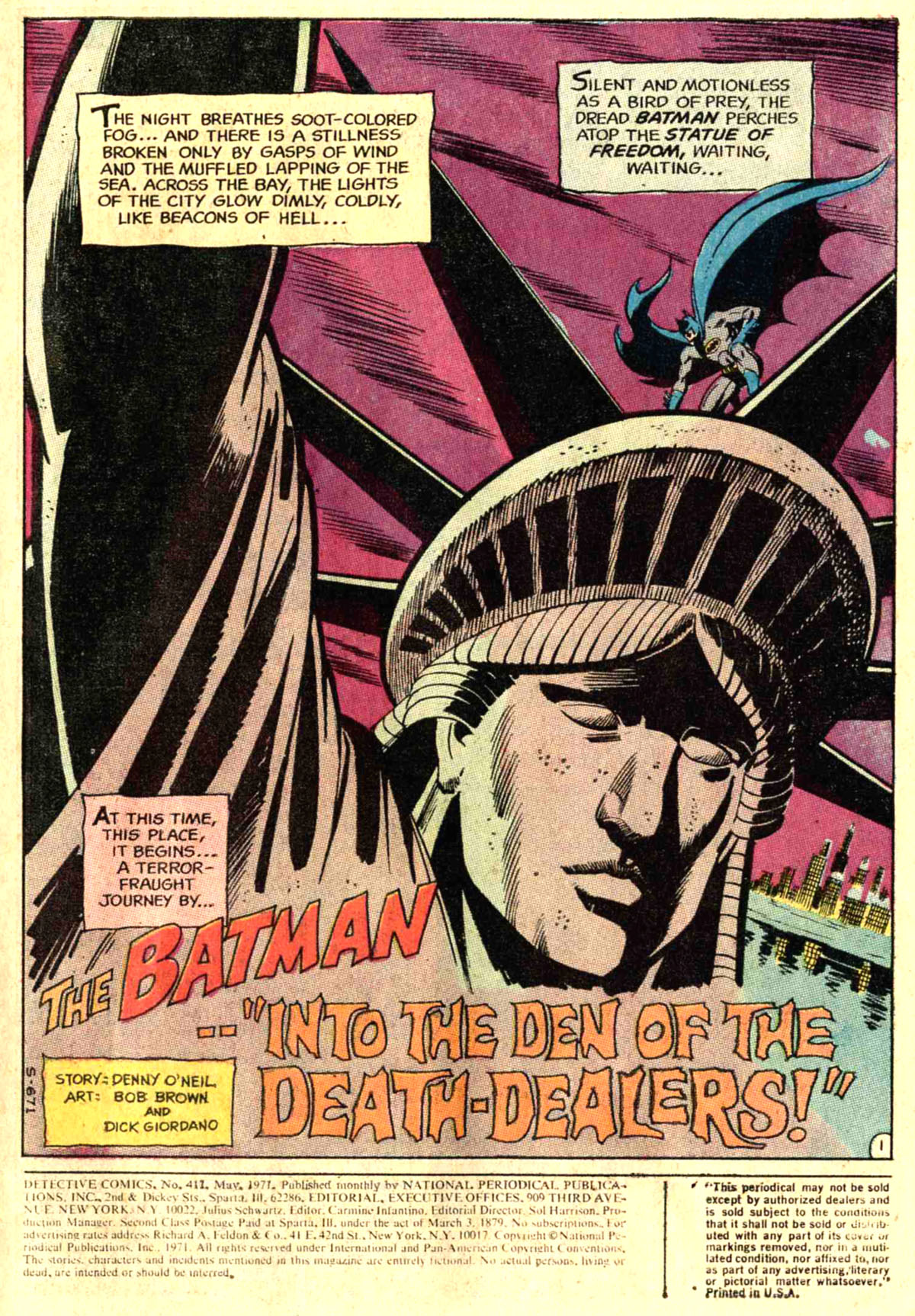 Detective Comics (1937) 411 Page 2