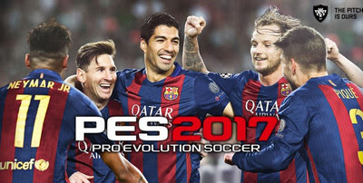 Pro Evolution Soccer 2017 APK 0.9 + DATA (PES 17 for Android)