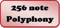 256 note polyphony