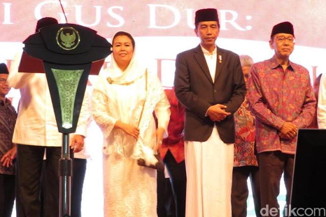 Presiden Jokowi: Kalau Gus Dur Masih Ada, Pasti Kita Dibilang Kayak Anak TK