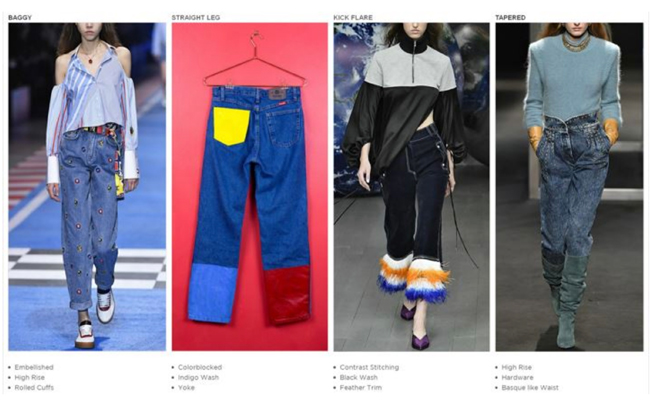 women's 2020 denim trends