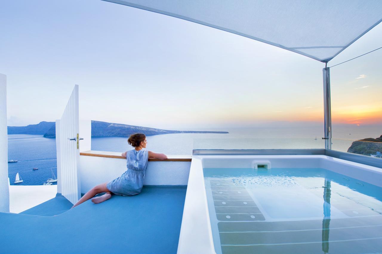Una villa da sogno sull'isola di Santorini